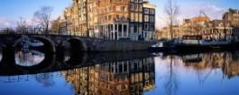 Netherlands, Grachten van Amsterdam (Scene in Amsterdam)