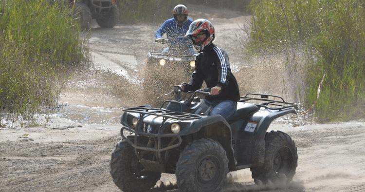 Hummer & Quad driving