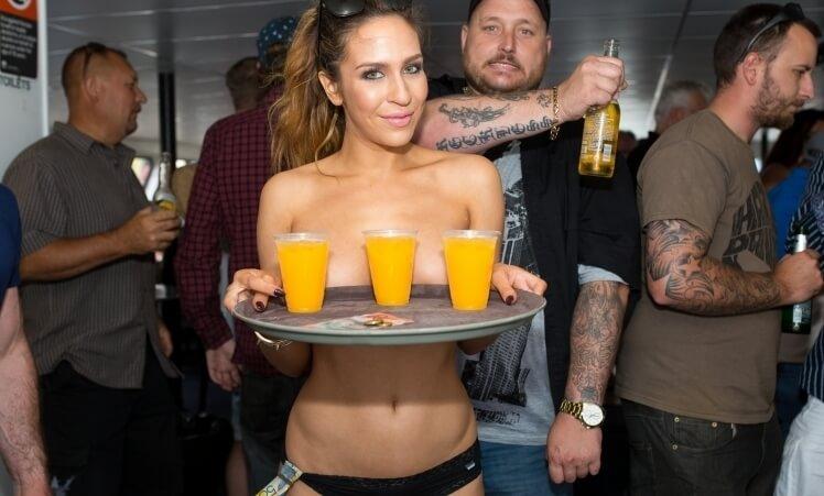 Amsterdam Naked Waitress Service.